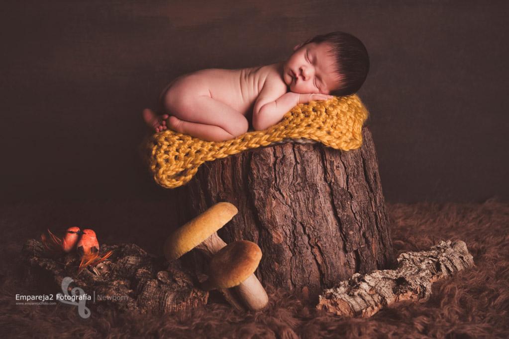 Adrián foto newborn